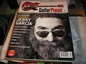 PLAYER magazine,dec. 2005, Jerry Garcia ,ten years Gone,, Randy Rhoads