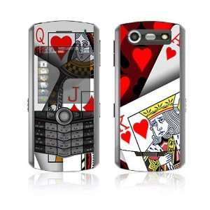 Royal Flush Decorative Skin Decal Cover Sticker for