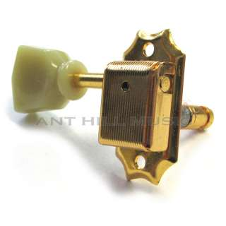 GOTOH KLUSON 3x3 LOCKING TUNING MACHINES TUNERS GOLD