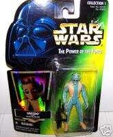 Greedo Star Wars Kenner Figure 1996 Hasbro blaster