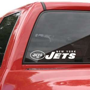 NFL New York Jets 4 x 17 Die Cut Decal Strip Sports