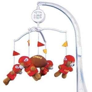 Chiefs Baby Crib Team Mascot Mobile NFL Football