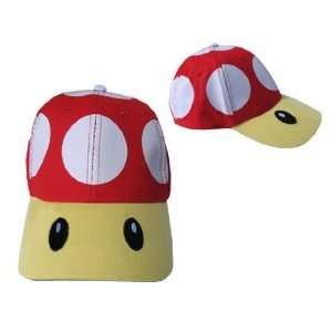 Cap NINTENDO Super Mario NEW Hat   Red Mushroom