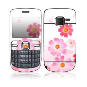 Pink Daisy Design Protective Skin Decal Sticker for Nokia