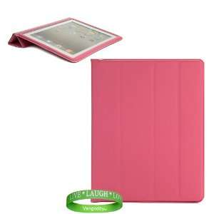 Pink Magenta Skin Cover Case with Screen Flap for all models of Apple