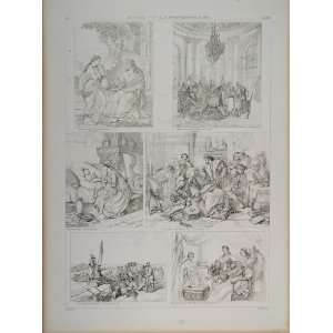 Painters Death Da Vinci Schrader   Original Lithograph Home & Kitchen
