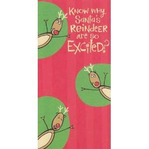 Christmas Card   Gift Card Holder Know Why Santas Reindeer Are so
