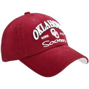 Oklahoma Sooners Batters Up Hat, Cardinal, One Fit Sports