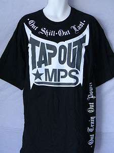 TAPOUT MENS Big Tall T SHIRT UFC MMA MPS WRESTLING New