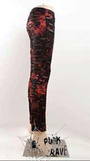 womens fashion punk kera goth nana rock pants trousers leggings S XL