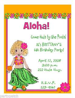 Luau Birthday Party On To Hawaiian Girl Girls Ideas