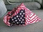 WAVY AMERICAN FLAG DESIGN COTTON BIKER BANDANA HEAD WRAP PATRIOT