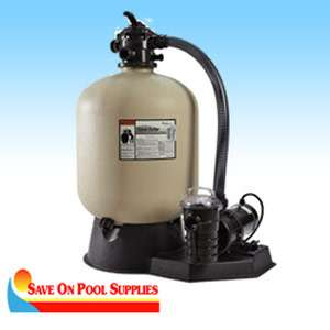 Sand Dollar SD40 Above Ground Swimming Pool Filter System w/1 HP Pump
