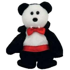TY Halloweenie Beanie Baby   VAN PYRE the Bear Toys