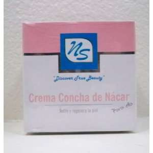 NS Mother of Pearl Cream for Her crema Concha Nacar Para Ella Beauty