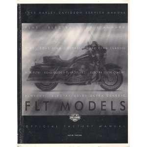 1999 Harley Davidson Service Manual FLT Models Service Manual: Harley