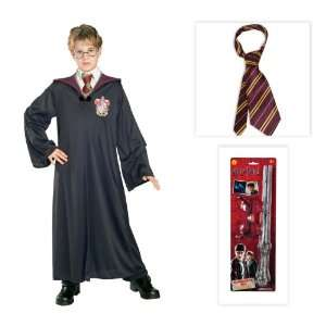 Harry Potter Child Costume including Gryffindor Robe, Glasses, Wand