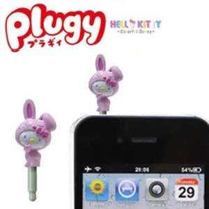 Sanrio Hello Kitty x Colorful Bunny Plugy Earphone Jack