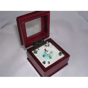Mr. Christmas Music Box Collectible ; We Wish you a Merry