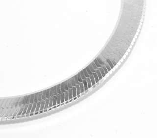 Imperial Herringbone Chain Necklace Sterling Silver 925