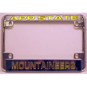 Chrome Motorcycle RV License Plate Frame