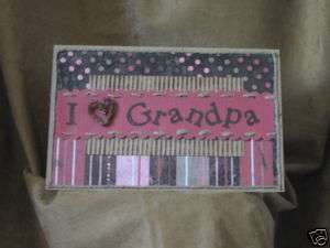 Handmade Greeting Card   Fathers Day   Card For Grandpa