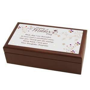 Mothers Day Personalized Keepsake Box Baby