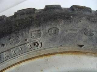 1984 Honda Z50 Front Wheel Tire Rim   Image 02