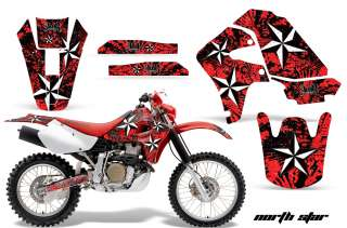 AMR RACING STICKER GRAPHIC KIT HONDA XR650 XR 650R PART