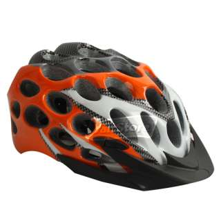 new 41 Holes Bicycle bike cycle Honeycomb Helmet Orange