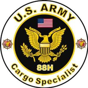United States Army MOS 88H Cargo Specialist Decal Sticker