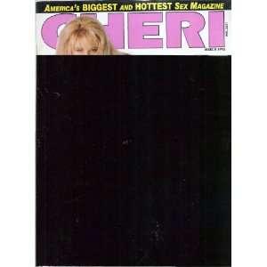 CHERI MARCH 1993 CHERI MAGAZINE Books