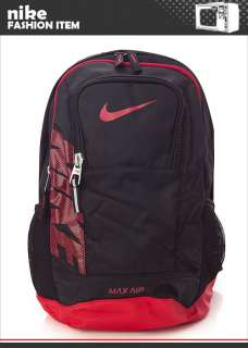 BN NIKE Team Training Max Air Backpack Book Bag in Black/ Black with