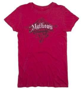 Mathews Ladies Victorian Pink Short Sleeve T Shirt MATM10SL2