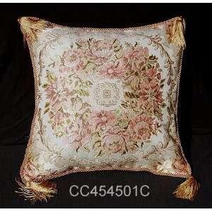 Aubusson Style Decorative Cushion/Pillow Cover 01C