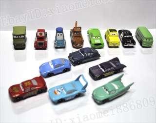 Pixar Cars Lightning McQueen Cars Set 14pc