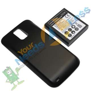 3600mAh extended battery Samsung Galaxy S II 2 Hercules T989 T Mobile