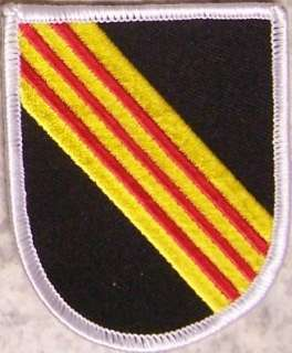 Embroidered Military Patch Special Forces 5th Group NEW