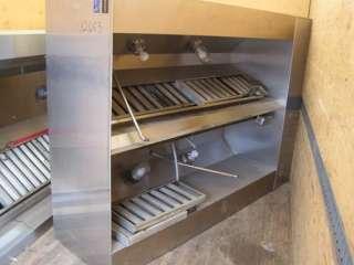 LARKIN HOOD W/FAN & HEATER MAKE UP AIR 12653 kitchen