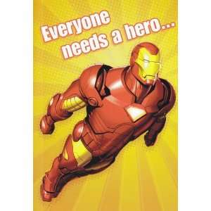 Greeting Card Birthday Invincible Iron Man For Dad   Everyone Needs a
