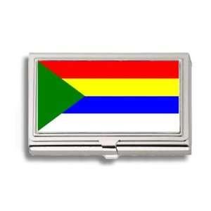 Druze Mountains Jabal Flag Business Card Holder Metal Case