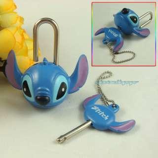 Lilo & Stitch mini pad lock with key Security M10ST