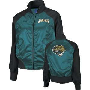 Jacksonville Jaguars  Teal/Black  Womens Satin Cheerleader