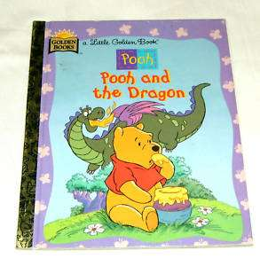 Little Golden Book Disneys POOH    Pooh and the Dragon 9780307987983
