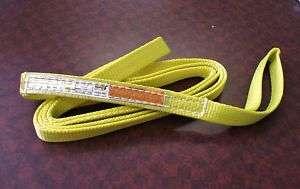 TUFF TAG Nylon Lifting Sling / Tow Strap EE1 901 x 8ft