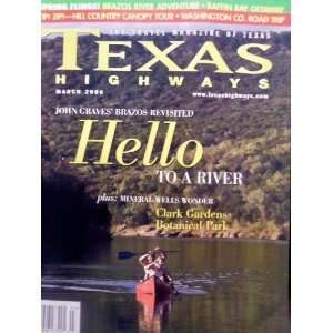 Park (Texas Highways, Volume 53, Number 3, March 2006) Jack Lowry