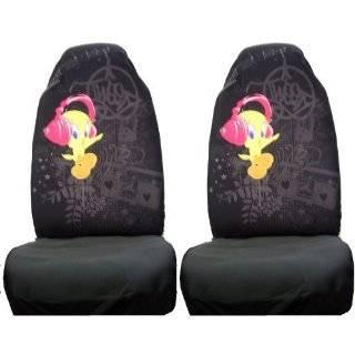 Tweety Bird Happy Pink Car Truck SUV Bucket Seat