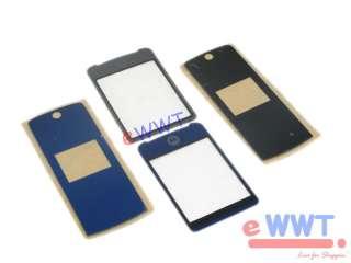 2x Motorola Krzr K1 * Front LCD Screen Cover Glass Lens