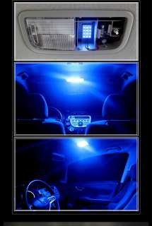 BLUE 12 SMD DOME MAP INTERIOR LED LIGHT