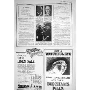 1922 MONTGOMERY CRAWFORD JOHN PENDER BEECHAMS PILLS WOLSELEY MOTOR CAR